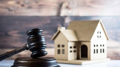 real estate going through probate court