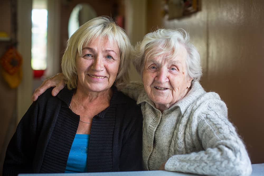 daughter family caregiver for mother