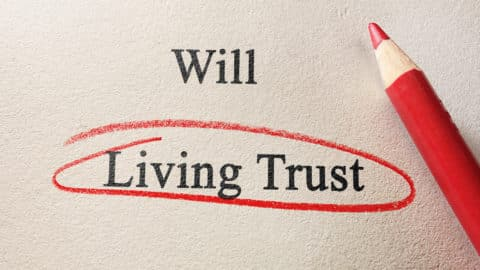 how does a living trust work