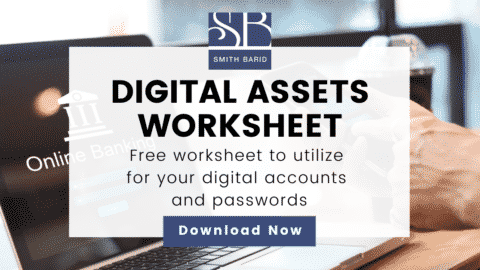 Digital Assets Worksheet for Estate Planning
