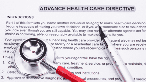 Create an Advance Health Care Directive